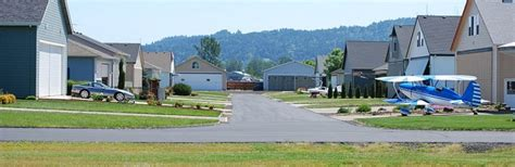 Washington Airport Airpark Homes