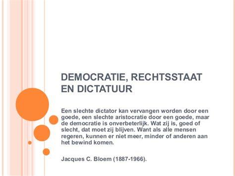 Wat is het verschil tussen Dictatuur en Autocratie