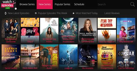 Watch Series TV Shows Online for Free Watchepisodes4