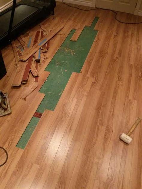 Water Damage to Laminate Flooring Laminate Floor Problems