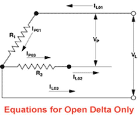 Watlow 3 Phase Delta Wye Calculator