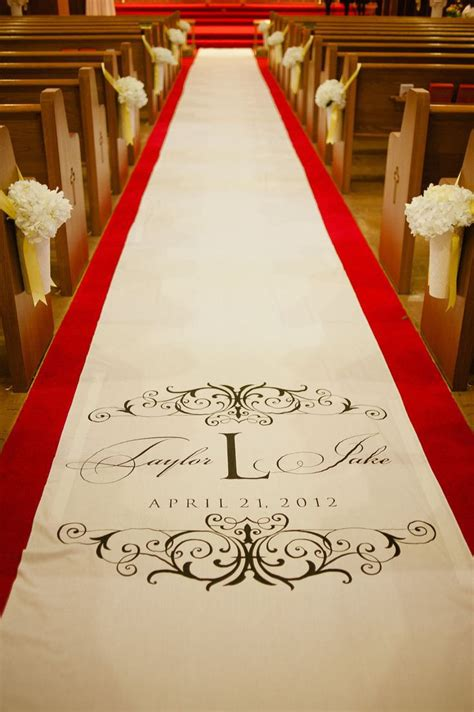 Wedding Aisle Runners Personalized Aisle Runners