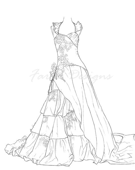 Wedding Coloring Book Pages Printable Colouring Sheets