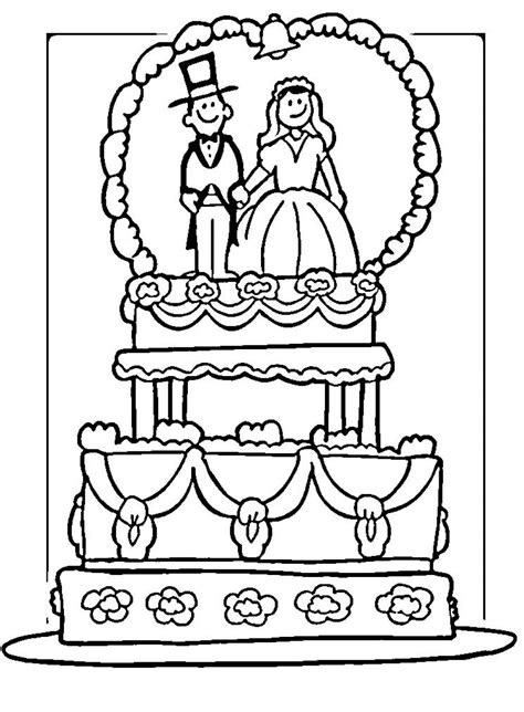 Wedding Coloring Pages Free and Printable