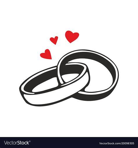 Wedding Rings Vector - Free Vector Art & Graphics