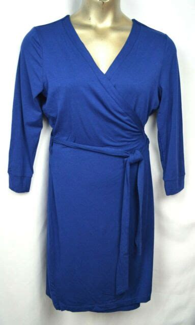 Wendy Williams 3 4 Sleeve Solid Wrap Dress 8396730 HSN