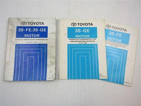 Werkstatthandbuch Toyota Auto Verkehr eBay
