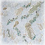 Wet Dog Tile Custom Handmade Tile Mosaic Borders