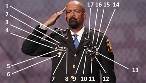 What Are All Those Medals On Sheriff David Clarke s Costume