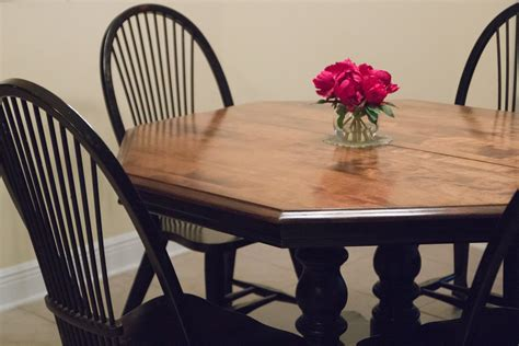 What I Learned from Refinishing Our Kitchen Table Myself