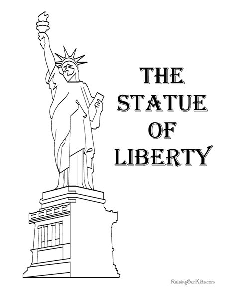 What is the Statue of Liberty poem Patriotic Coloring Pages