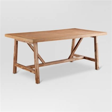 Wheaton Farmhouse Trestle Dining Table Threshold Target