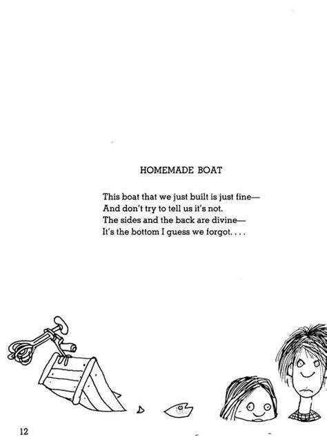 Where the Sidewalk Ends Poems and Drawings Shel