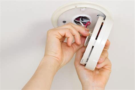 hard wired smoke detector diagram images smoke detector where to install smoke alarm detector home maintenance