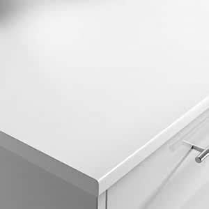 White 28mm Laminate Worktop Moisture Resistant Core 3000mm