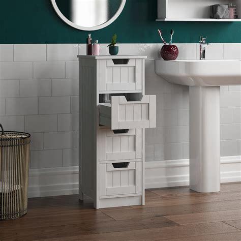 White Bathroom cabinets bathroom storage furniture from