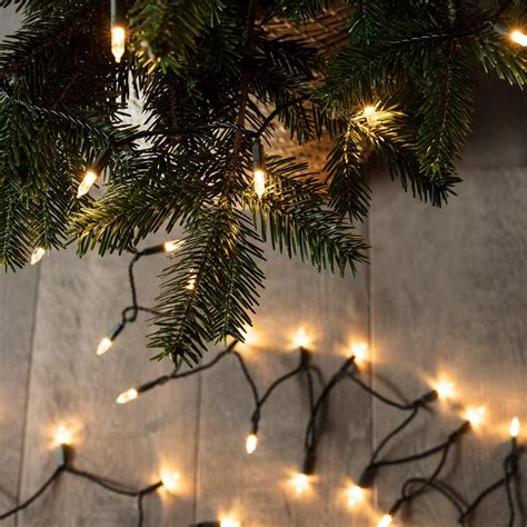 White Christmas Trees With Led Lights