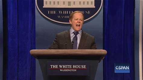 White House rattled by McCarthy s spoof of Spicer POLITICO