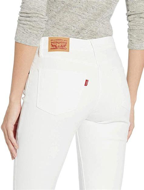 White Levi Jeans Womens
