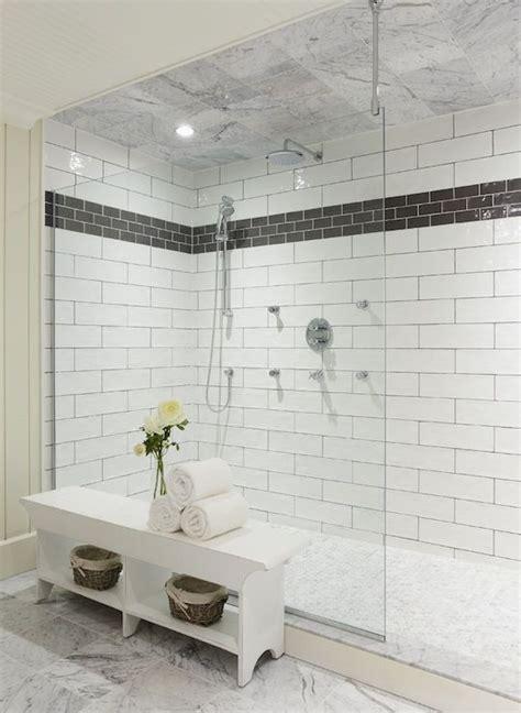 White Subway Tiles In Bathroom Design Ideas DecorPad