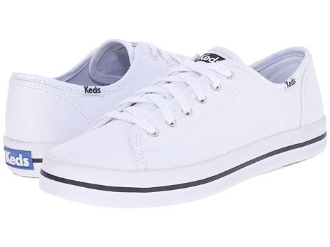 White Tennis Shoes Women s White Canvas Shoes Keds