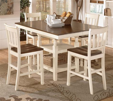Whitesburg Counter Height Dining Room Table Ashley