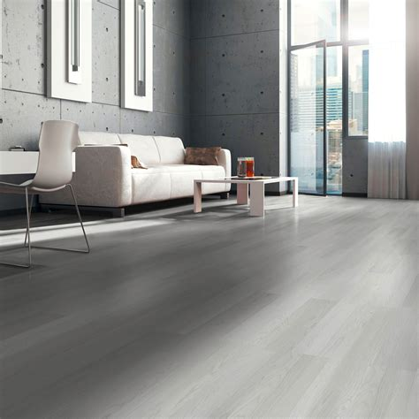 Whitewash Oak White Wood Effect Laminate Flooring 3 m
