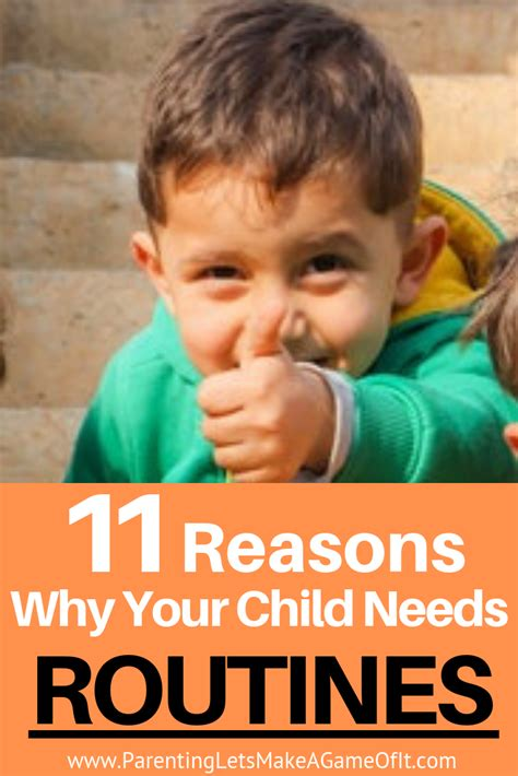Why Kids Need Routines Aha Parenting