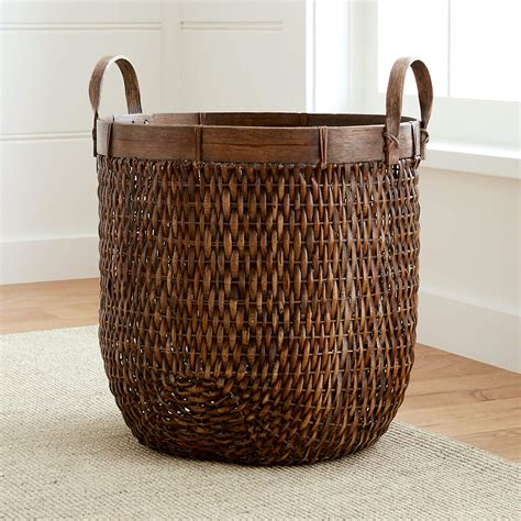 Wicker Basket Crate and Barrel