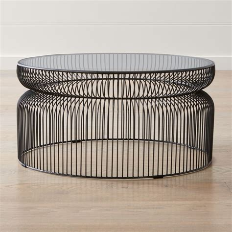 Wicker Coffee Tables Crate and Barrel