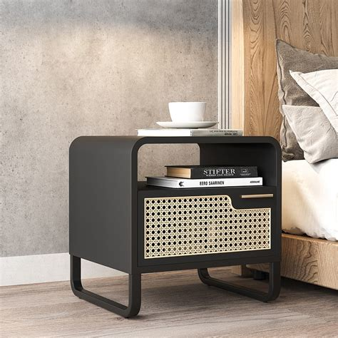 Wicker Nightstand Or Table Sears