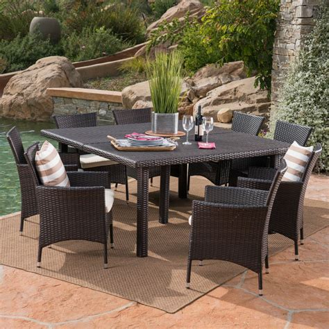 Wicker Patio Furniture Outdoor Dining Chairs Patio