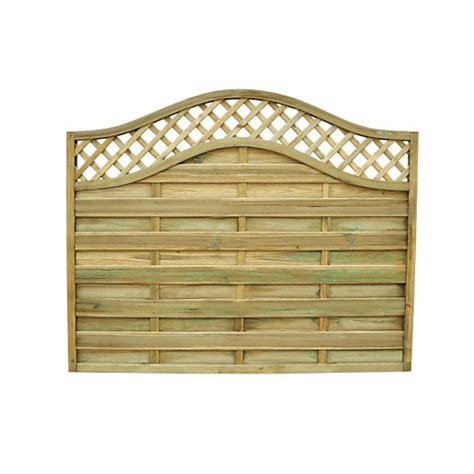 Wickes Bristol Fence Panel 6ft x 5ft Packs Wickes
