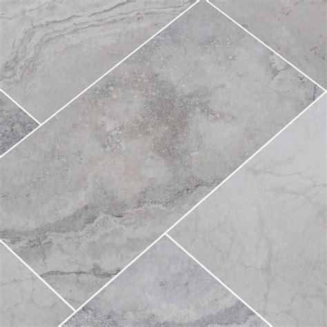 Wickes Modular Stone Effect Grey Porcelain Floor Tile 436