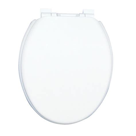 Wickes White Thermoplastic Soft Close Toilet Seat Wickes