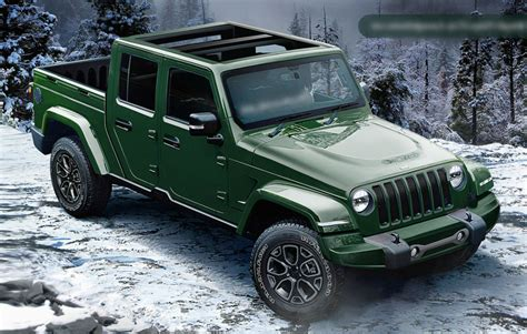 Will the Jeep Wrangler Pickup Truck be a 2019 or 2020