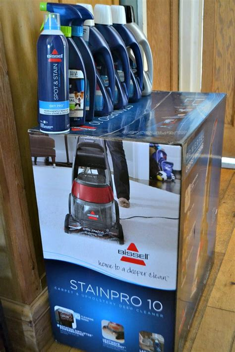 Win a Bissell Stainpro 10 Carpet Cleaner Products