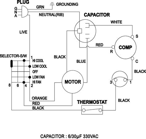 schematic wiring diagram of window type air conditioner images window air conditioner diagram window wiring diagram and