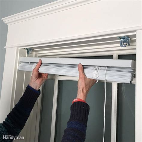Window Blind Installation and Mounting Hardware and