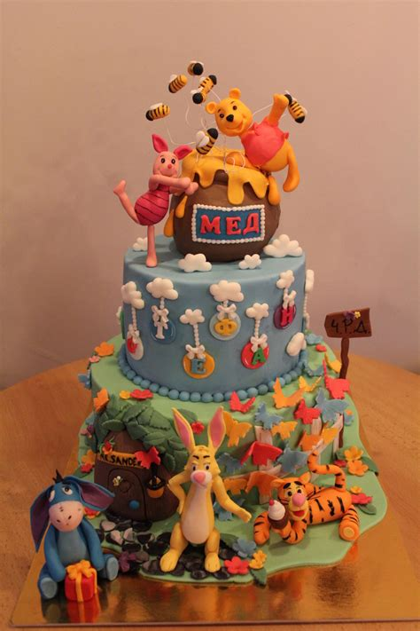 Winnie The Pooh Cake Designs Instructions Ideas Pictures