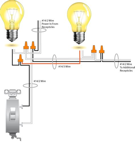 wiring 2 lights to 1 switch diagram wiring wiring diagrams wiring two lights one switch diagram images
