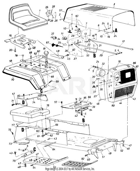 cub cadet wiring diagram lt1042 images wiring diagram for cub cadet lt1050