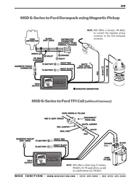 Wiring Diagram Msd 6al2