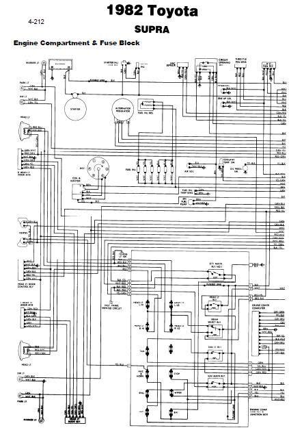 Wiring Diagram Toyota Supra