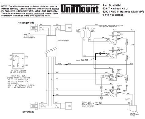 Wiring Diagram Western Unimount