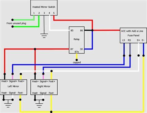 aftermarket fog light wiring diagram images civic fog light wiring diagram for rear view mirror tacoma world