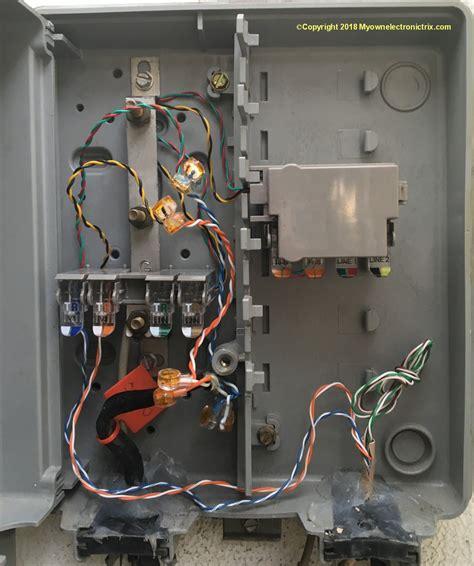 Wiring Phone Box Outside