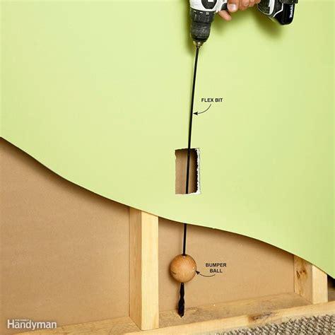 Wiring Through Walls