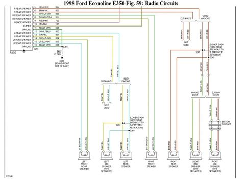 1998 ford e350 radio wiring diagram images nissan wiring diagrams wiring diagram for 1998 ford e350 transit bus 2carpros