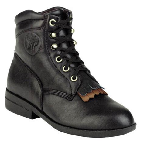 Women s Cowboy Boots Lace Up Boots Work Boots and Shoes